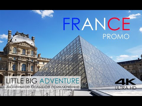 FRANCE TRAVEL TimeLapse PROMO 4K