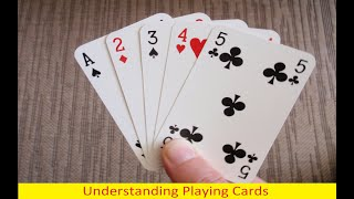 Understanding Playing Cards