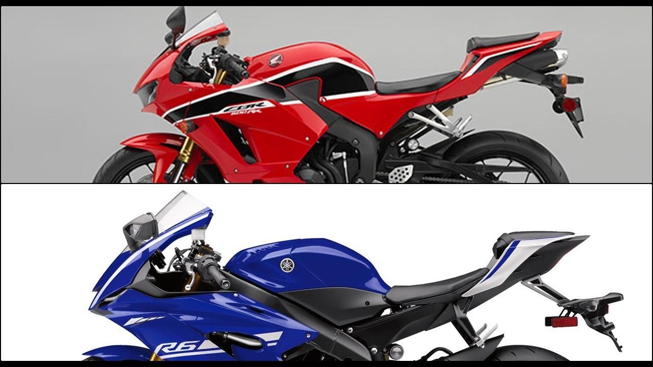 Comparison 2017 Honda Cbr600rr Vs Yamaha R6 Specs Photo Compilation