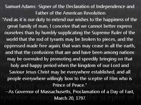 Quotes from our Christian Founding Fathers