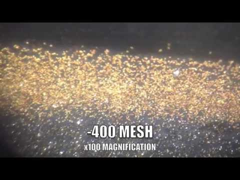 Magnum Manufacturing REAL MICROSCOPIC GOLD RECOVERY!