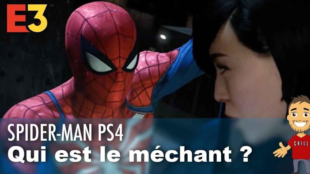 QUI sera le MÉCHANT dans SPIDER-MAN PS4 ?