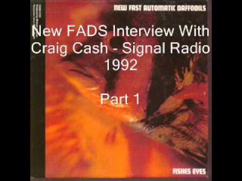 New FADs Interview with Craig Cash - Part 1