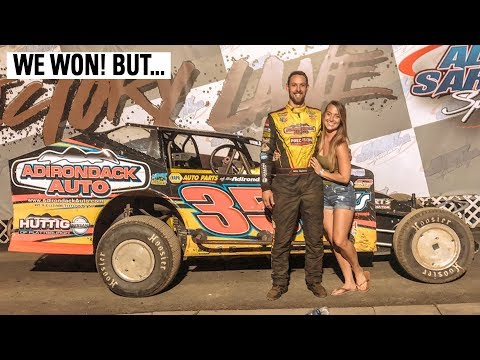 Bittersweet Victory At Albany Saratoga Speedway