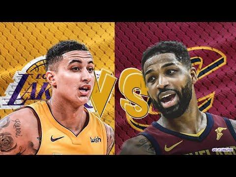 Cleveland Cavaliers vs Los Angeles Lakers - Full Game | Jan 13, 2018 | NBA 2k19