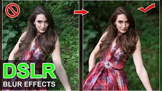 How to Blur Background Like DSLR - সাধারন ছবিকে দিন DSLR Blur Effect