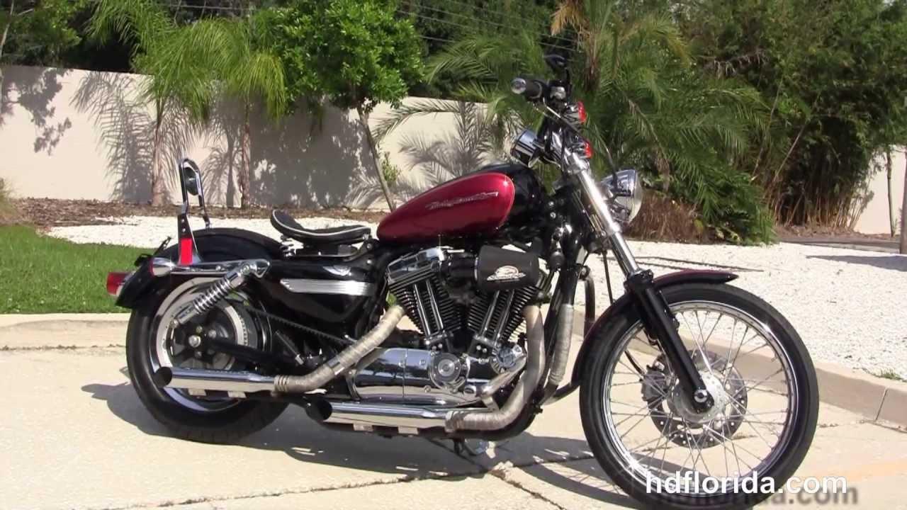 used 2013 harley davidson xl1200c sportster 1200 custom motorcycle for sale youtube. Black Bedroom Furniture Sets. Home Design Ideas
