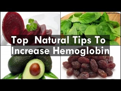 Natural Tips To Increase Hemoglobin