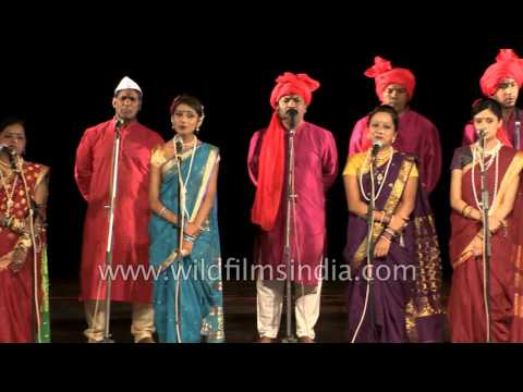 Marathi song by Khakri Folk dance group from Mauritius