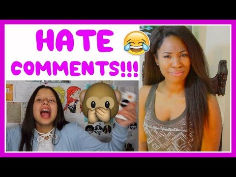 READING HATE COMMENTS WITH MY MOM | Clawdeena9