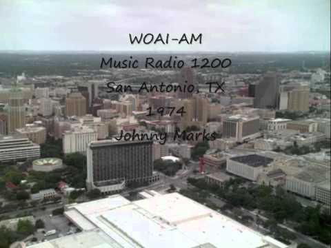 WOAI AM San Antonio, TX 1974 Johnny Marks