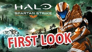Halo Spartan Strike Gameplay Let´s Play First Look Review Deutsch / German #1 HD PC
