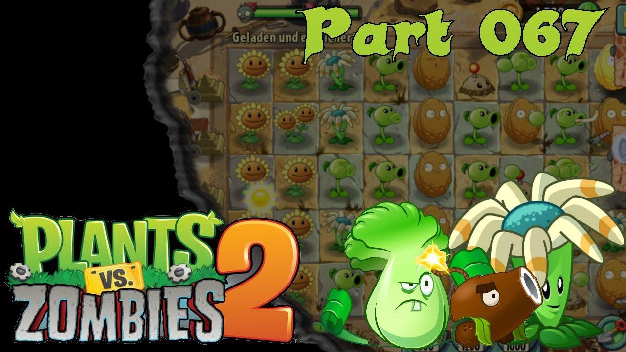 Lets Play Pflanzen Gegen Zombies 2 67 Die 5 Welt Plants Vs
