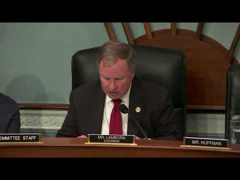 Rep. Lamborn Presides Over Subcommittee on Water, Power, and Oceans   Feb 14, 2018 at 1 40 PM