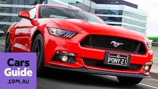 2016 Ford Mustang V8 GT and EcoBoost review | first drive video