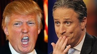 Celebrity Fights: Hilarious Jon Stewart vs. Crazy Donald Trump