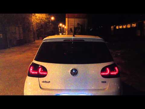 Golf Mk5 Dectane Taillights Youtube