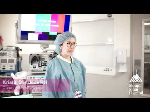 Meet The Periop OR Staff of The Mount Sinai Hospital