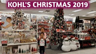 NEW KHOL'S CHRISTMAS DECOR 2019 | 4K | SHOP WITH ME | A mom's life with Becky Buford