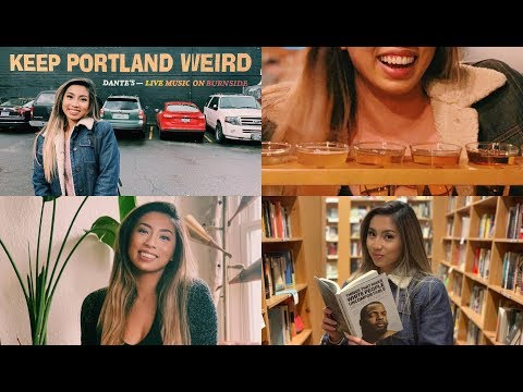 WHAT TO DO - 24 HRS In PORTLAND (VLOG) | @ohdangdanii