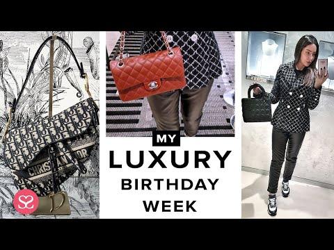 MY BIRTHDAY WEEK! Massive Luxury Shopping in HERMES, DIOR, CHANEL….