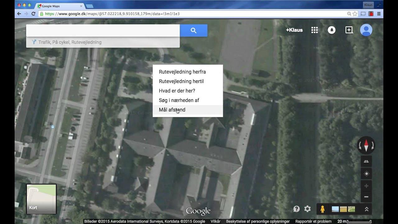 Male Afstand I Google Maps Webm Youtube