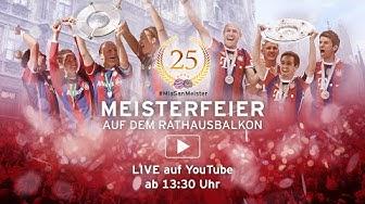 FC Bayern Meisterfeier 2015