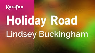 Karaoke Holiday Road - Lindsey Buckingham *