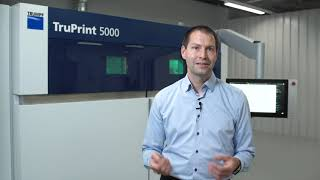 TRUMPF: Ask the Expert – Monitoring solutions for the TruPrint systems