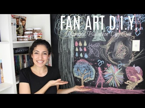 Fan Art DIY | Biannual Bibliothon Day One