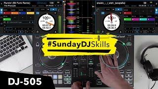 Roland DJ 505 - Hip Hop / Drum & Bass Influences - Performance Mix