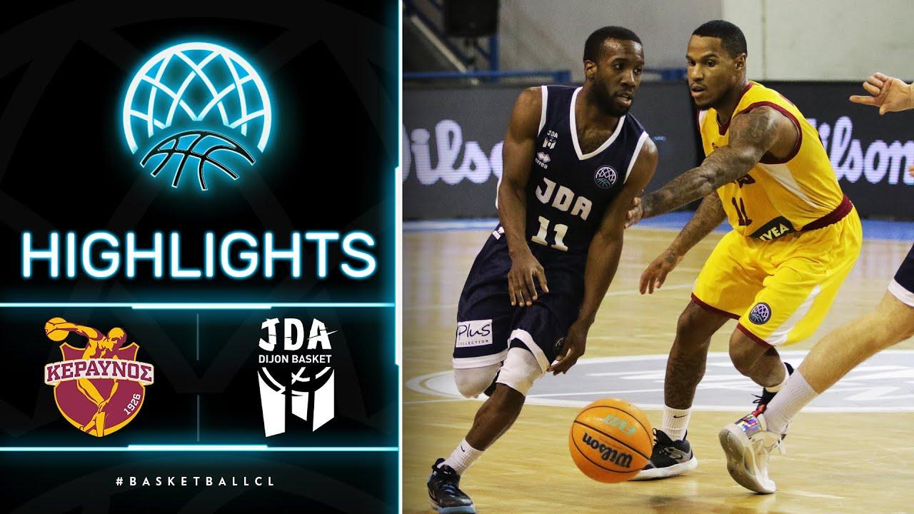 Keravnos v JDA Dijon - Highlights