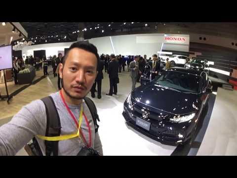 |TMS 2017| Khám phá chi tiết Honda Civic 2018 cụt đuôi