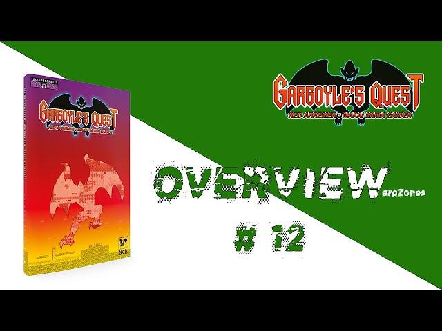 Overview / Aperçu # 012 Guide Complet Gargoyle's Quest (L'Ecureuil Noir)