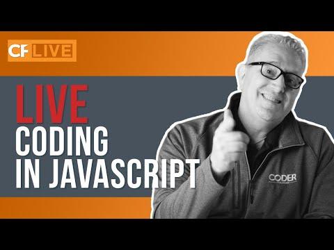 LIVE Coding - Javascript Coding Challenge (Part 1 - The Layout)