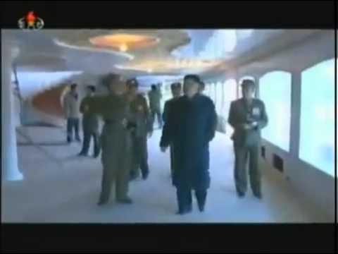 North Korea Life : KIM JONG UN FLOATING RESTAURANT INSPECTION