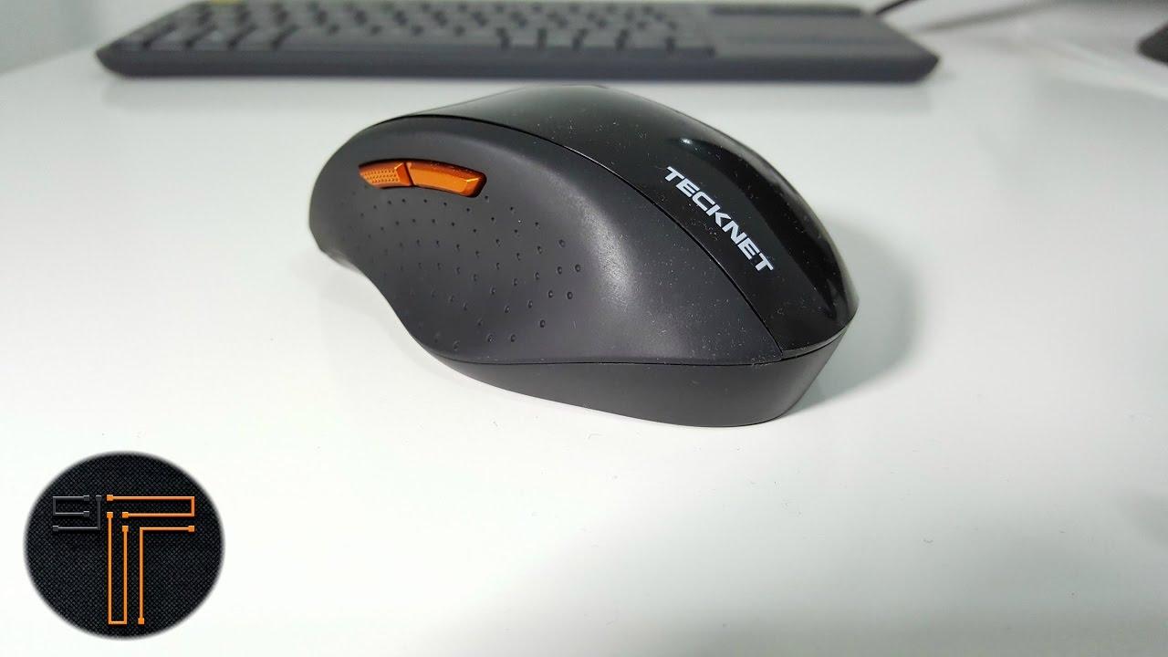 1cf0f8bbfa1 TeckNet 2.4G Nano Wireless Mouse Review - YouTube