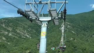 Канатная дорога в Сафари-Парке Геленджика. Видео подъёма и спуска.(, 2016-07-19T18:09:45.000Z)