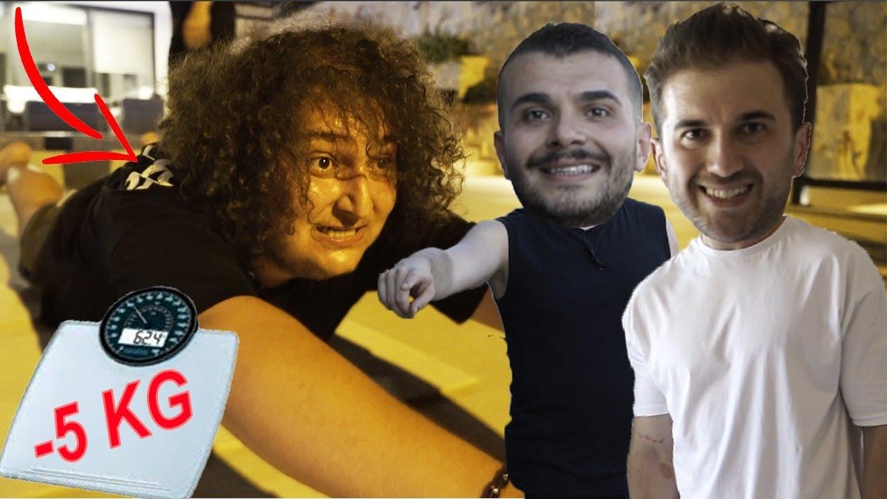 MESUT CAN TOMAY 'A 6 SAATTE 5 KİLO VERDİRME CHALLENGE w/ Mesut Can Tomay & Cihan Albayrak