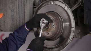 Kā nomainīt Aizmugures bremžu kluči, Aizmugures bremžu diski BMW 7 E65 [Pamācība]