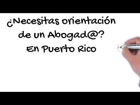 Orientación Legal Gratis Consulta Sin Costo Puerto Rico