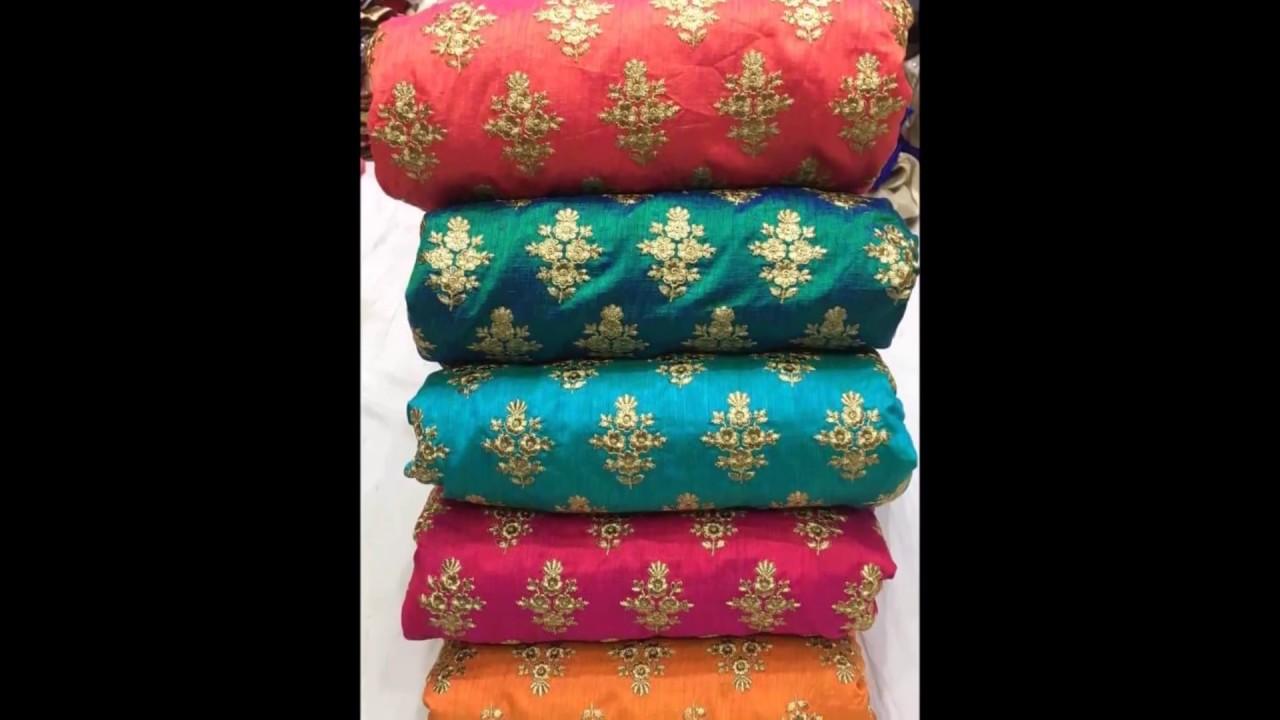 designer fabric clothing material