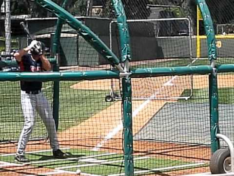 Arizona Junior C Jett Bandy Batting Practice