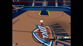 Roblox NBA 2017 Miami Heats vs Thunders de l'Oklahoma