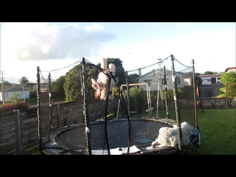 Avalanche Flip Bottom/Spanish Fly off trampoline!