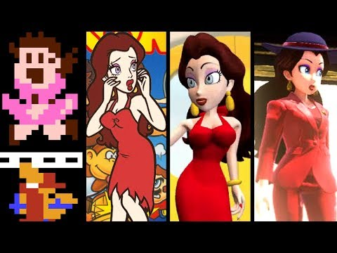Super Mario Evolution of PAULINE 1981-2017 (Odyssey to Arcade)