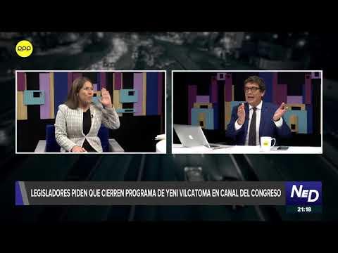Mira el acalorado debate de Yeni Vilcatoma en Nada Está Dicho
