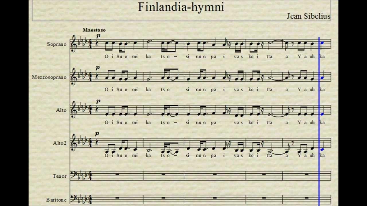 Finlandia Hymni Youtube