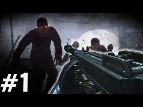 """Nacht Der Untoten REIMAGINED! #1 """"Call of Duty Zombies"""" Custom Zombies Gameplay"""