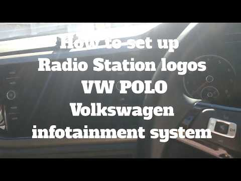 How to set up new 2018 Volkswagen Polo Radio station logos